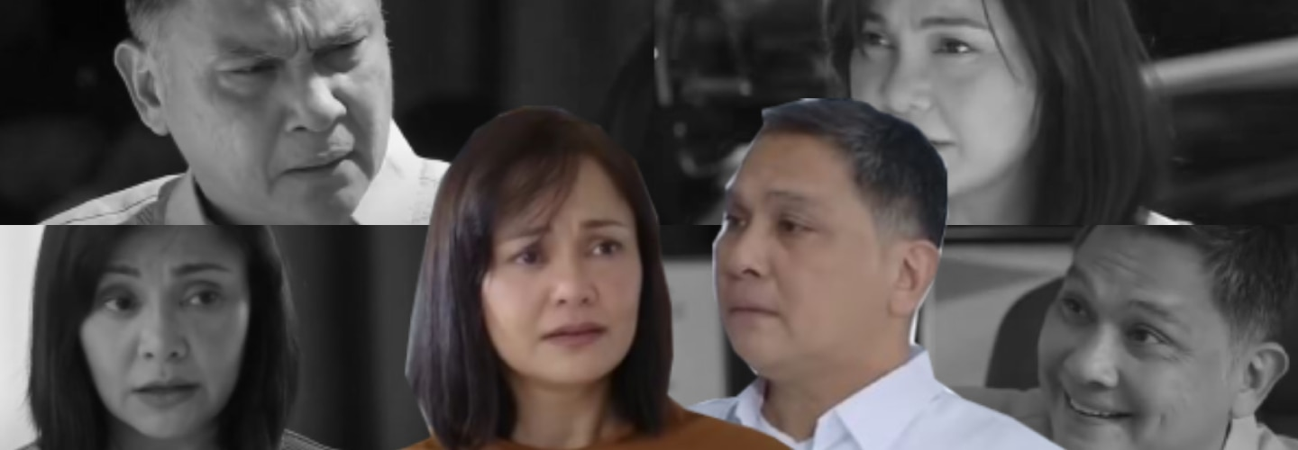 10 scenes of Simon and Deborah's evil acts to gain power and glory in Huwag Kang Mangamba
