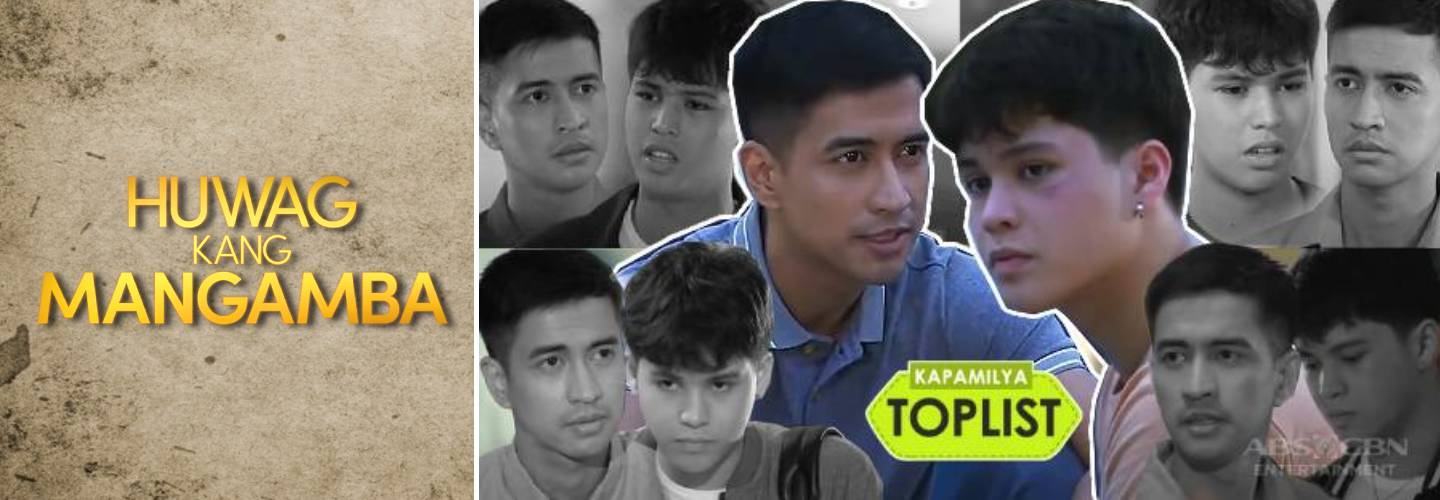 7 scenes showing Miguel as a brother to Rafa