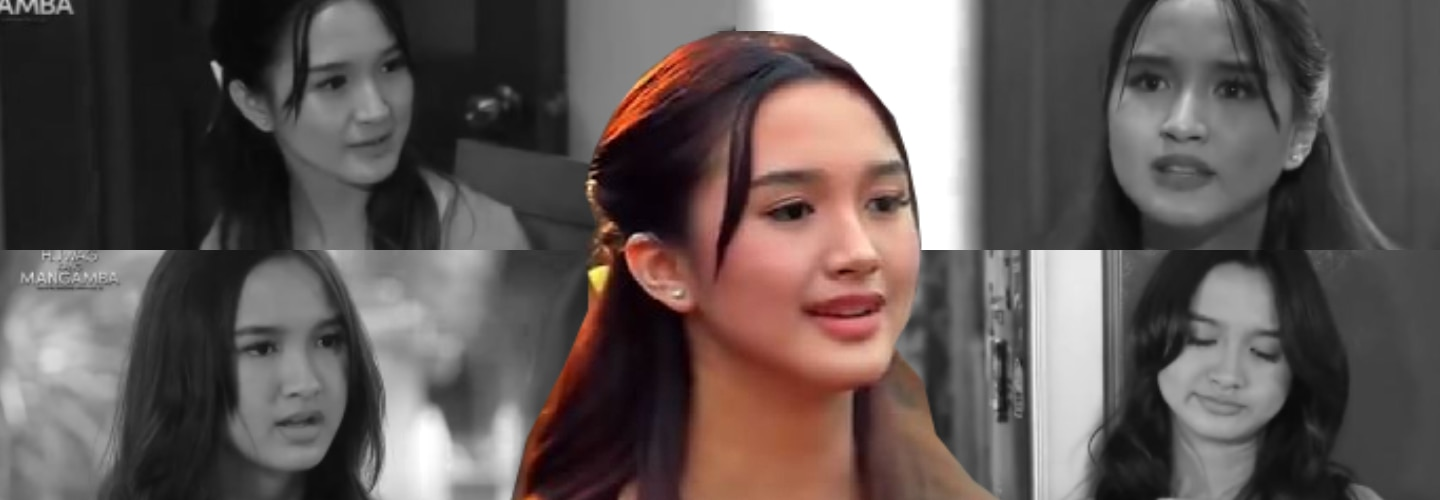 10 scenes of Sofia as a wicked stepsister in Huwag Kang Mangamba