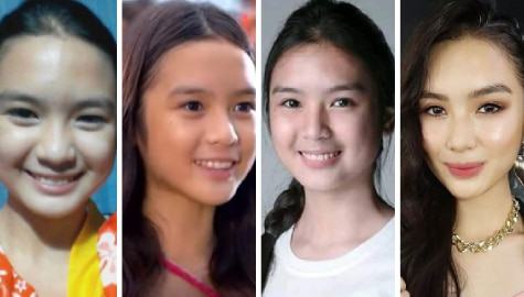 Francine Diaz's impressive run as a promising actress through the years