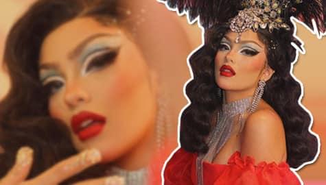 Andrea Brillantes Drag Queen transformation