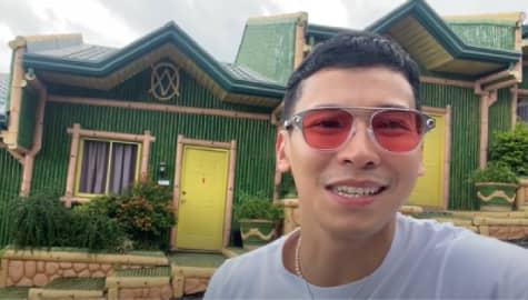 Enchong Dee gives a tour around new Huwag Kang Mangamba lock-in taping location