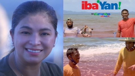 Iba 'Yan reaches out to fisherfolk community devastated by Typhoon Ambo on Father's Day