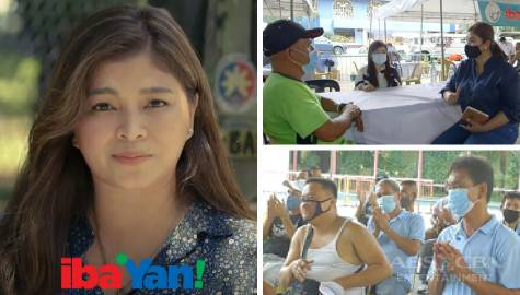 Angel Locsin provides help, gives surprises to jeepney drivers in Iba 'Yan