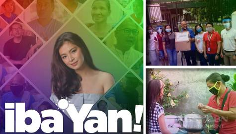 Beneficiaries thank Angel Locsin, Iba 'Yan for life-changing assistance