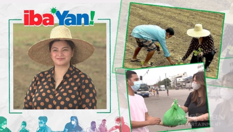 Iba 'Yan: Angel Locsin reaches out to aid affected farmers amid pandemic, calamities