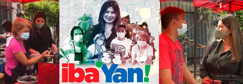Iba 'Yan: Angel Locsin brings Christmas cheer to puto bumbong and bibingka vendors in Mandaluyong City