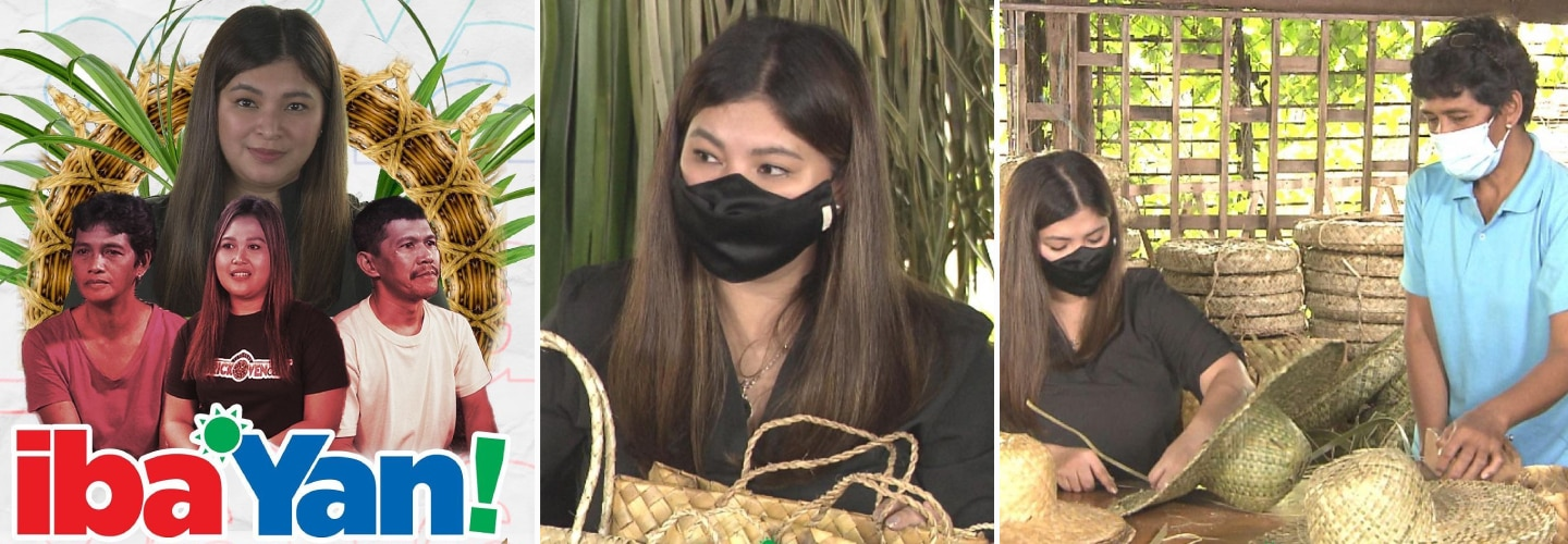 Iba 'Yan extends support to pandan weavers of Laguna, eco-friendly café owners in latest episode