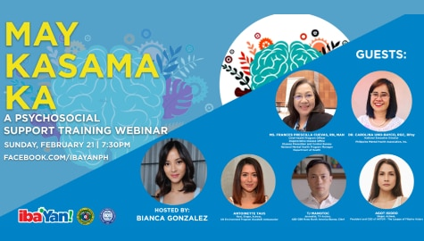 """Iba 'Yan"" hold webinar for people suffering from depression"
