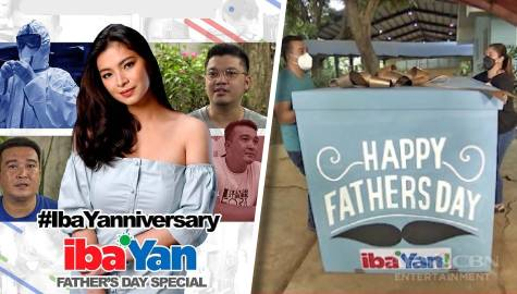 Iba Yan pays tribute to medical frontliner-dads