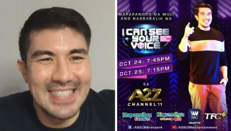 Luis teases new and exciting changes in I Can See Your Voice Season 3