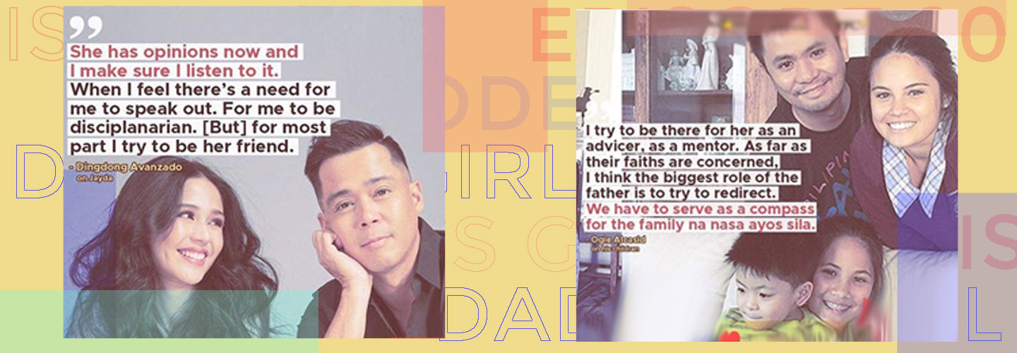 I Feel U: The inspiring father-daughter relationship of Ogie and Leila Alcasid, Dingdong and Jayda Avanzado