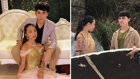 "Edward and Maymay reflect on their 2020, talk about ""Princess DayaReese"""