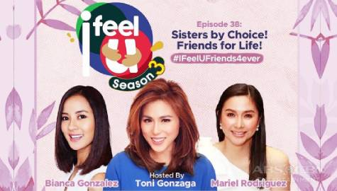 I Feel U: Stories of friendship, motherhood, married life, and more by Toni, Mariel, and Bianca