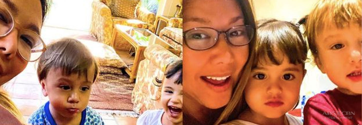 "Korina on her children Pepe and Pilar: ""They give me clarity."""