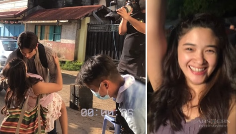 Yam Concepcion takes us behind-the-scenes in Init Sa Magdamag taping
