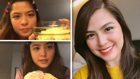 Kapamilya Chat: Alexa demonstrates how to prepare her go-to merienda