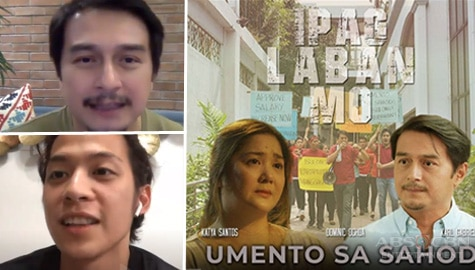 "Dominic Ochoa and Karl Gabriel gain friendship and lessons from Ipaglaban Mo ""Umento sa Sahod"""