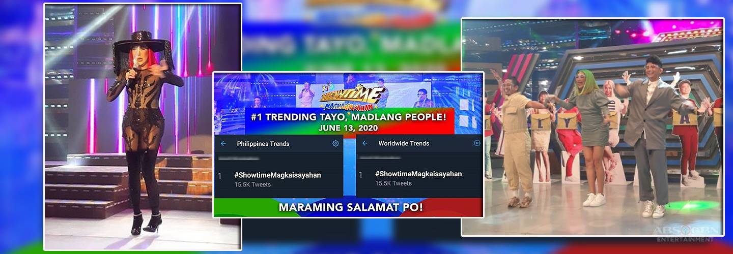 Netizens express jubilation, excitement with return of It's Showtime, ABS-CBN shows on Kapamilya Channel