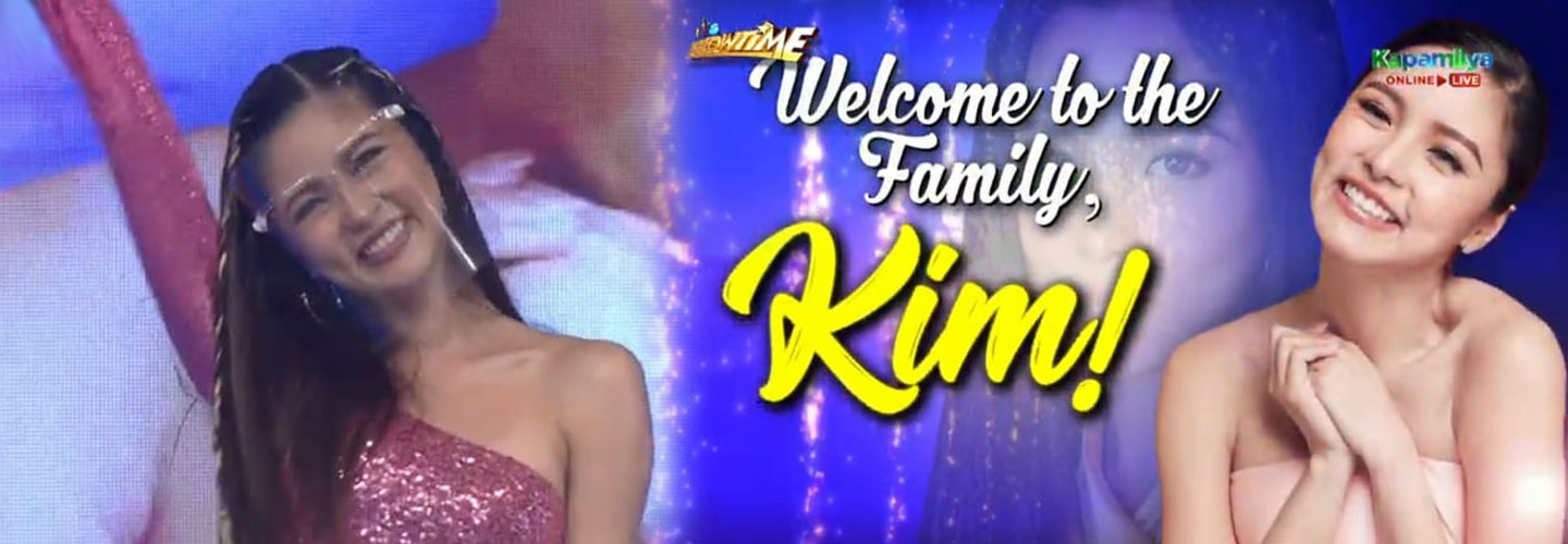 It's Showtime welcomes Kim Chiu as its newest host