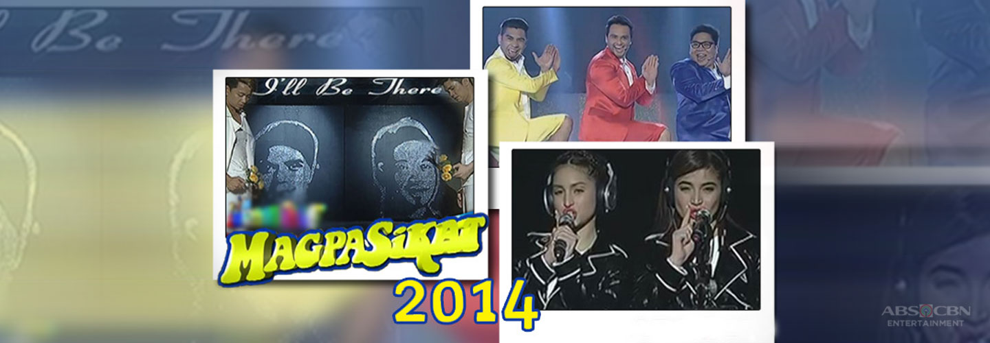 MAJOR THROWBACK: It's Showtime Magpasikat 2014