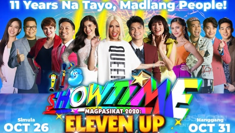 It's Showtime celebrates 11th anniversary with creative Magpasikat performances