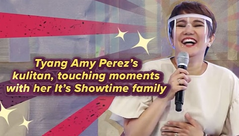 Tyang Amy Perez's kulitan, touching moments with her It's Showtime family