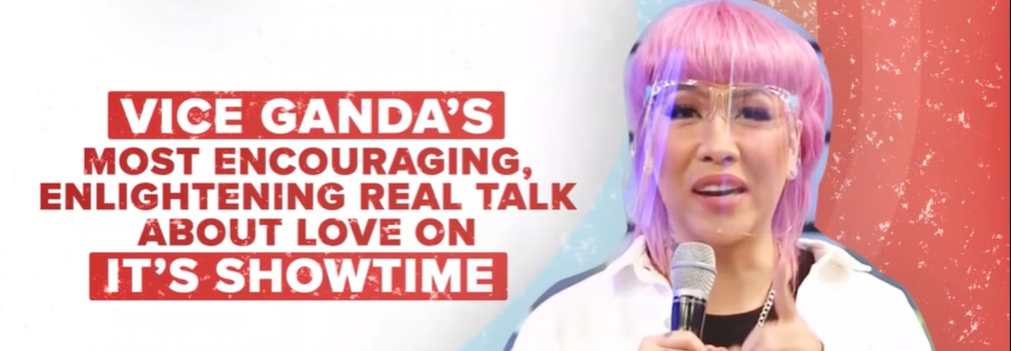 It's Showtime Toplist: Vice Ganda gives heartfelt, relatable real talk about love
