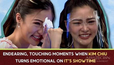 5 times cheerful Kim Chiu shed tears on It's Showtime