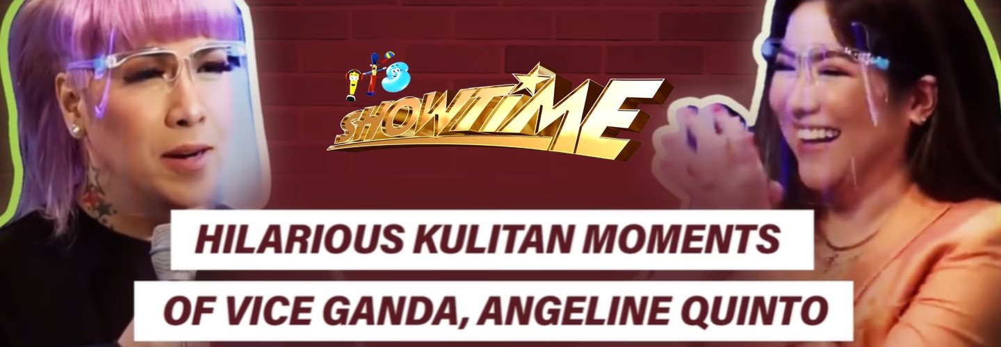 14 times Vice, Angeline amused the madlang people with their funny kulitan moments on It's Showtime