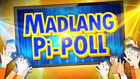 Viewers at home can win Madlang Pi-Poll