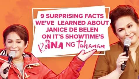 Fun facts about Janice De Belen as revealed in her ReIna ng Tahanan stint as choose-gado