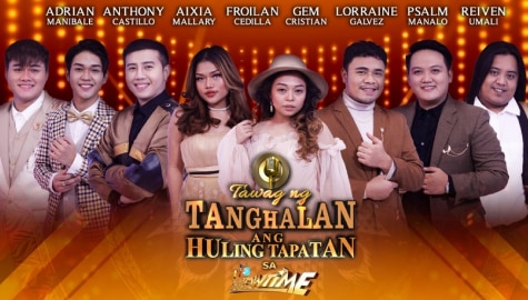 Eight singers fight for their dreams in 5th Tawag ng Tanghalan Finals on It's Showtime