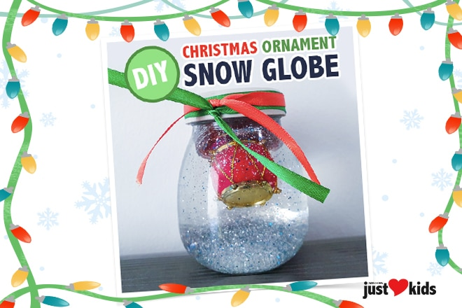 DIY Christmas Craft : Snow Globe