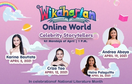 Wikaharian Celebrates National Literature Month with Celebrity Storytellers