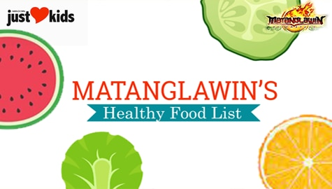 Check out Matanglawin's videos on certain foods that can be good for our health!
