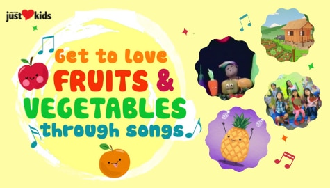 Fruits and Vegetables through Songs