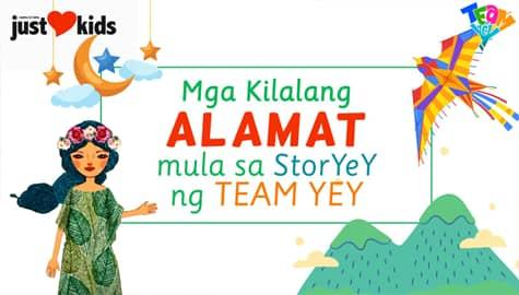Ang Mga Kuwentong Buwan ng Wika ng Team YeY!