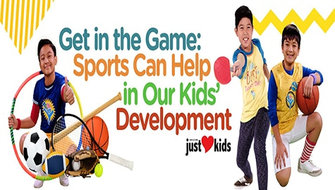 Get in the Game: Sports can help in our kids' development