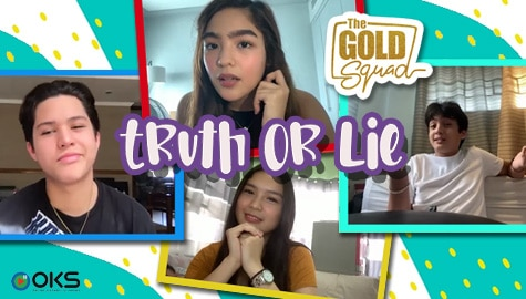 WATCH: 2 Truths and a Lie with The Gold Squad | Online Kapamilya Shows Image Thumbnail