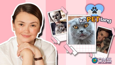 Angelica Panganiban introduces her feline baby Cindy