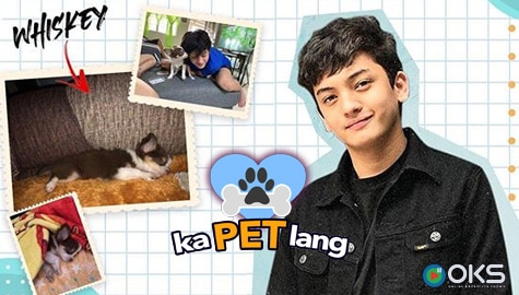 Seth Fedelin introduces his cutie PETmalu Whiskey on Kapet Lang