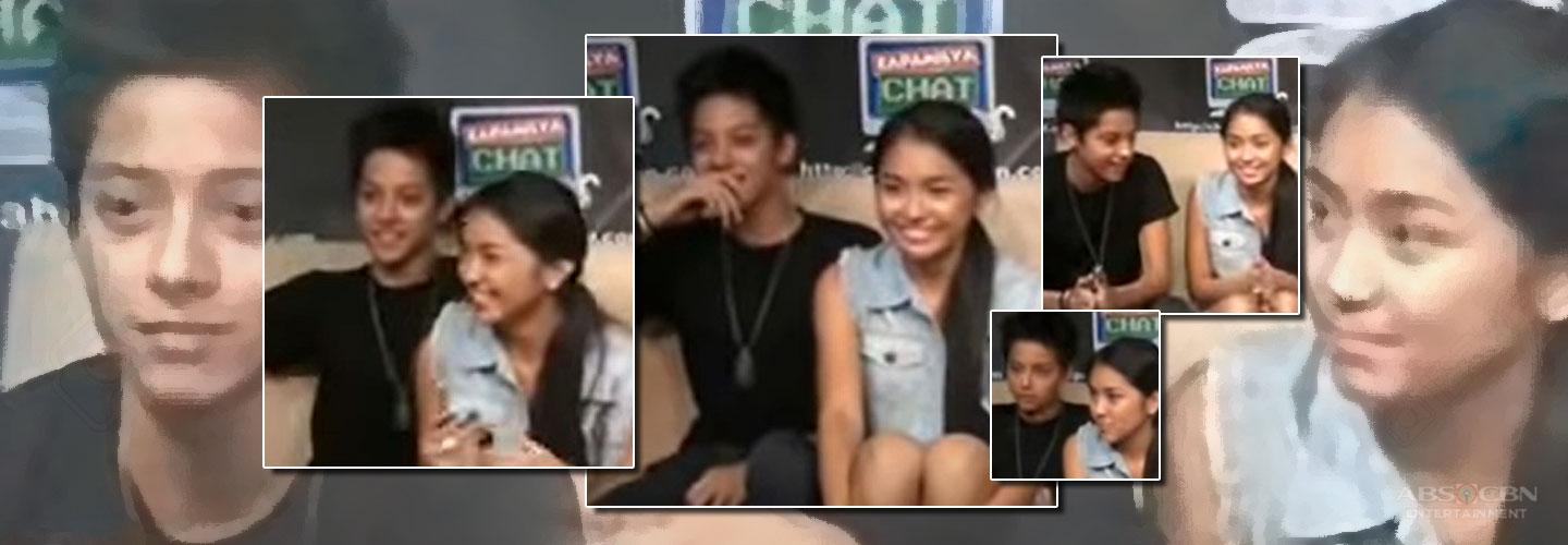 Kathryn and Daniel's first ever Kapamilya Chat together!