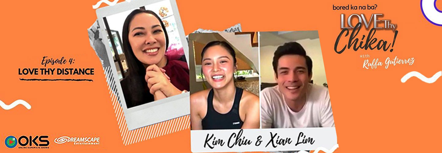 Kim Chiu and Xian Lim stay strong as a couple in lockdown romance