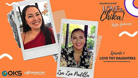 Love Thy Chika: Zsa Zsa shows love, concern for daughters Karylle, Nicole and Zia