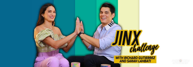 Sarah Lahbati and Richard Gutierrez take on the Jinx Challenge