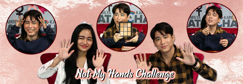 Vivoree Esclito JC Alcantara Not My Hands Challenge