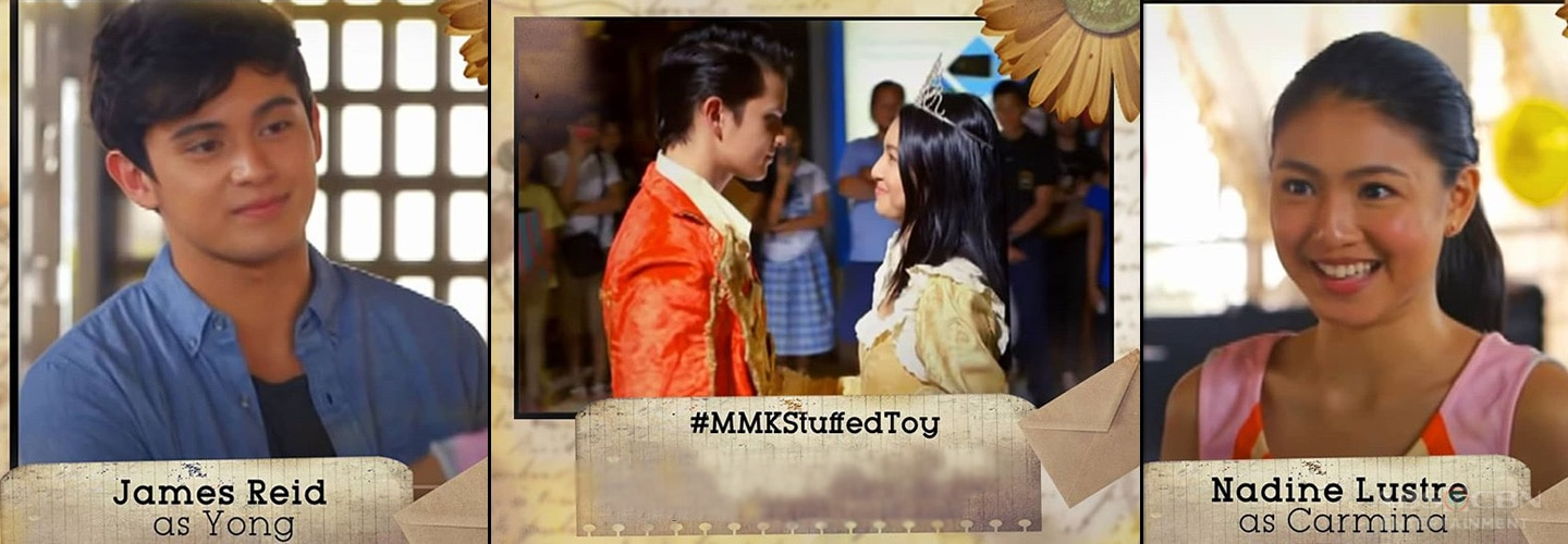 "REVIEW: Netizens thrilled by JaDine's 'happily ever after' in MMK ""Stuffed Toy"""