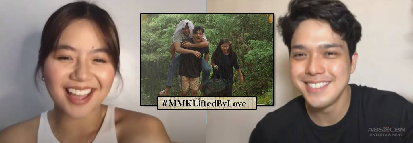 "Elmo Magalona and Miles Ocampo look back on their MMK ""Lifted by Love"" episode"