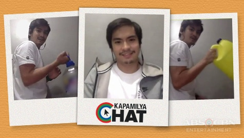 Jairus Aquino talks about ECQ life on Kapamilya Chat!